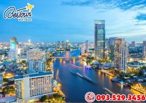 Tour Du Lịch Thái Lan 4 Ngày 3 Đêm Bay - Tết Té Nước