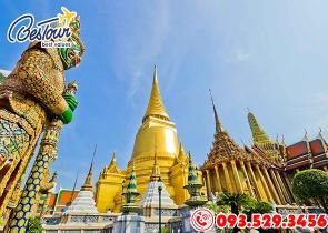 Tour Du Lịch Thái Lan 5 Ngày 4 Đêm Bay Air Asia