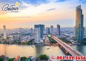 Tour Du Lịch Thái Lan 5 Ngày 4 Đêm Bay Vietjet