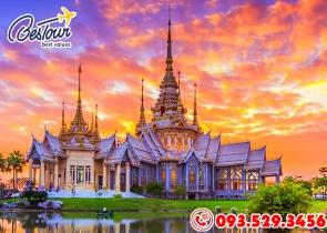 Tour Du Lịch Thái Lan 4 Ngày 3 Đêm Bay LionAir - 2019