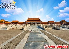 Tour Du Lịch Trung Quốc 7 Ngày 6 Đêm : THƯỢNG HẢI – TÔ CHÂU – HÀNG CHÂU – BẮC KINH bay Vietnam Airlines