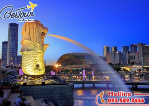 Tour Du Lịch Singapore 4 Ngày 3 Đêm bay Vietjet