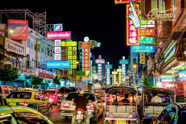 5 khu phố ẩm thực khét tiếng thủ đô Bangkok